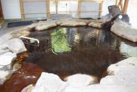 屋根付の露天風呂