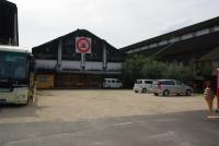 マルキン醤油の工場と売店