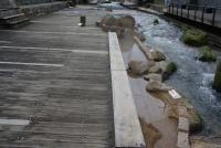 原泉と足湯