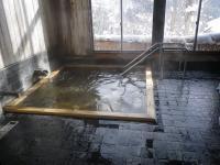 内湯はヒノキ風呂