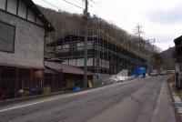 建て替え中の紅葉館
