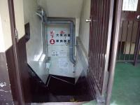 大衆浴場への階段